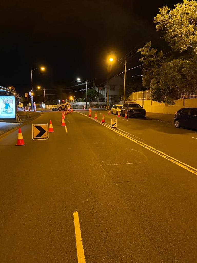 Risks and Benefits of Night Road Works 2